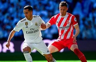 Real Madrid evinde Girona'ya kaybetti