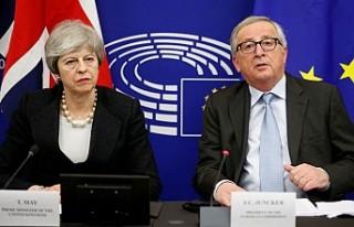Brexit için İngiltere ile AB arasında anlaşma...