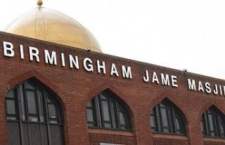 İngiltere'nin Birmingham kentinde beş camiye...