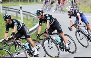 Kadın bisiklet yarışçıları erkekleri yakalayınca...