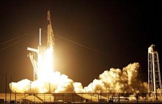 SpaceX'in kapsülü Uluslararası Uzay İstasyonu'na...
