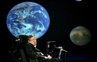 Stephen Hawking İngiltere'de madeni parayla...