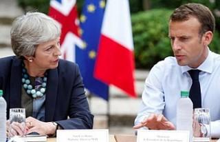 İngiltere Başbakanı May, Merkel ve Macron ile görüşecek