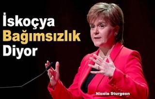 İskoç Başbakan yeni bir bağımsızlık referandumu...