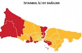 İstanbul'un 5 ilçesinde geçersiz oylar yeniden...