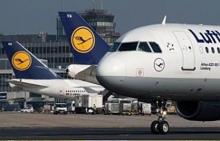 Lufthansa uçağı acil iniş yaptı