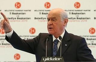 MHP Lideri Bahçeli, Kılıçdaroğlu'na Saldırı...