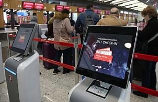 THY İstanbul Havalimanı'nda 25 bin 223 yolcu...