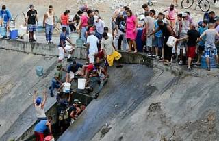 Venezuela'da elektrik kesintisinin yol açtığı...