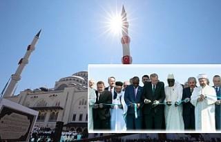 Çamlıca Camisine Görkemli Açılış