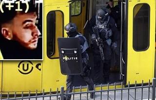Hollanda'daki tramvay saldırısı zanlısı...