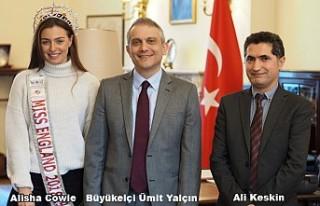 İngiltere Güzellik Kraliçesi Türkiye'nin tanıtım...