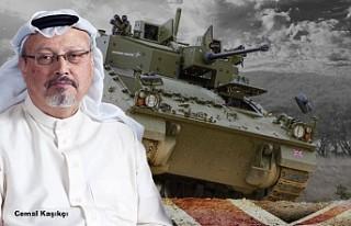 İngiltere Kaşıkçı cinayetinin ardından Suudilere...