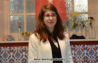 Neva Sadıkoğlu, AP'nin Tek Türk Kökenli Adayı