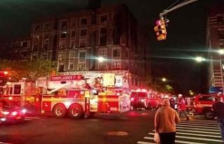 New York'ta yangın