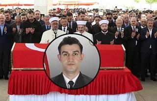 Şehit Yüzbaşı Celalettin Özdemir'e Son Görev