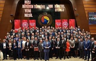 Türkiye'nin en hızlı büyüyen 100 şirketi...