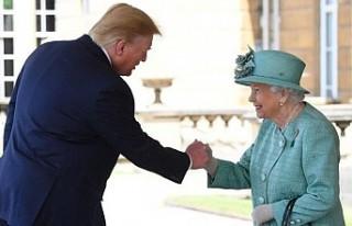 ABD Başkanı'nın ilk durakları Buckingham...