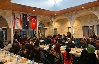 Avustralya'da Kıbrıslı Türklerin iftar coşkusu