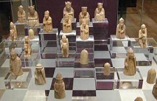 Birkaç sterline alınan satranç taşı 1 milyon...