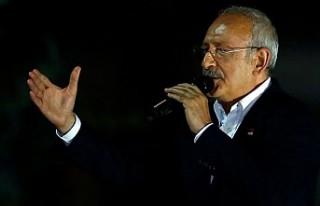 CHP lideri Kılıçdaroğlu İstanbul seçim sonucunu...
