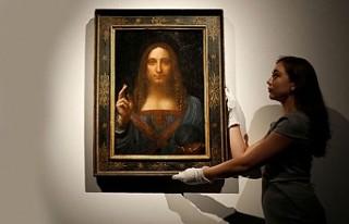 Da Vinci'nin İsa'lı tablosunu rekor fiyata...