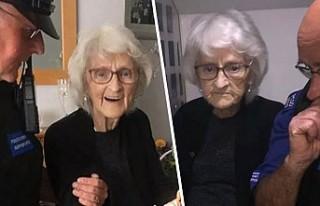 Hayatında hiç suç işlemeyen 93 yaşındaki kadın...