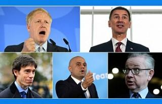 İngiltere'de Muhafazakar Parti liderliği için...