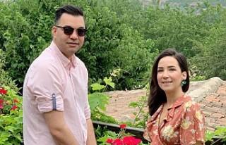 İpek Açar ile Alper Kömürcü'nün ilk tatili
