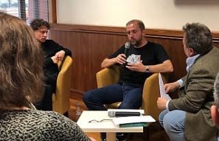 Bosnalı Yazarlar Meskovec ve Sehic, Londra Yunus...