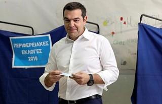Yunanistan'da yerel seçimlerde ana muhalefet...