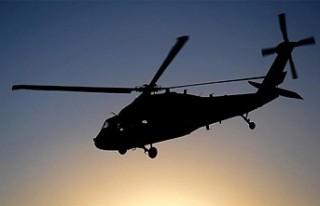 Almanya'da helikopter düştü