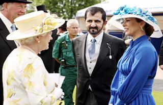 Dubai Emiri Şeyh El Maktum'un eşi Londra'da...
