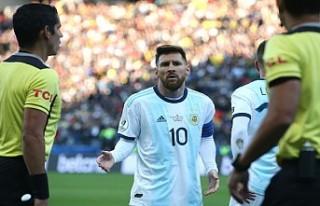 Messi'ye verilen ceza belli oldu