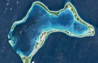 Morityus, İngiltere'nin kontrolündeki Chagos...