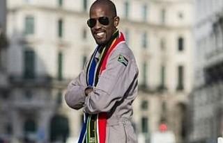 Uzaya gidecek ilk siyah Afrikalı astronot motosiklet...