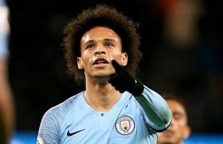 Manchester City'de Sane en az 6 ay yok