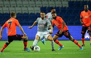 Medipol Başakşehir tur şansını zora soktu