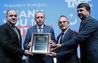 Erdoğan, ABD'deki Türk soydaş ve Müslüman...