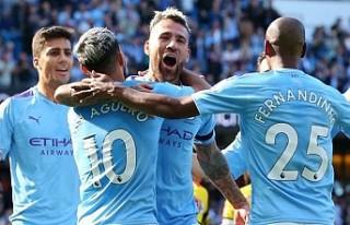 Manchester City, 18 dakikada 5 gol attı