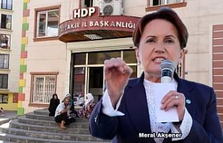 Meral Akşener'den, 'Diyarbakır Anneleri'...