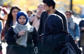 Montreal'de iki Müslüman öğretmen başörtüleri...