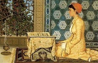 """Osman Hamdi Bey'in """"Kur'an Okuyan Kız""""..."""