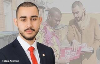 Genç Politikacı Tolga Aramaz, İngiliz Parlamentosuna...