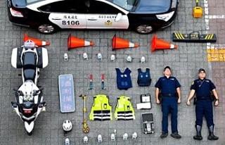 Zürih polisinin başlattığı #TetrisChallenge çılgınlığa...