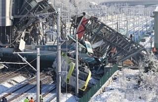 Ankara'da 9 kişinin öldüğü hızlı tren...