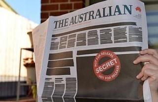Avustralya'da gazeteler basın özgürlüğüne...