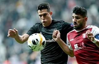 Beşiktaş'ın çabası yetmedi, Braga galip