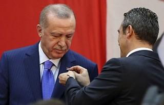 Erdoğan, Fenerbahçe Yüksek Divan Kurulu Üyesi...