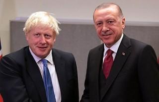 Erdoğan, İngiltere Başbakanı ile görüştü